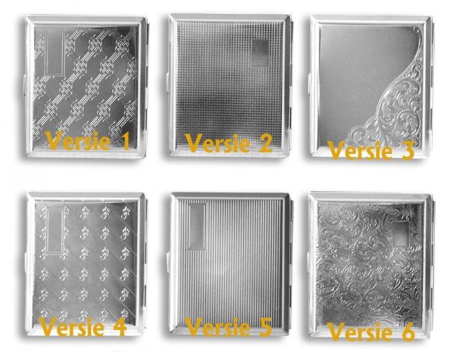 Metalen Sigarendoosje (6 soorten)